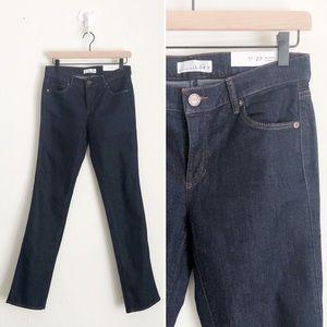 LOFT Modern Straight Dark Jeans Size 4 (27)